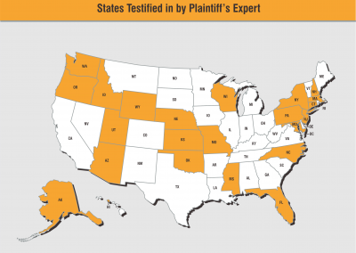 States Testified In